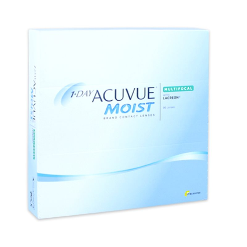 1-Day Acuvue Moist Multifocal - 90 Lenti a Contatto