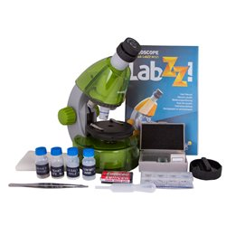 Microscopio Levenhuk LabZZ M101, verde limetta