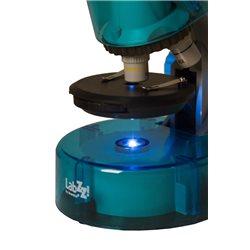 Microscopio Levenhuk LabZZ M101, azzurro