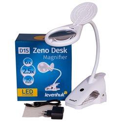 Lente d'ingrandimento Levenhuk Zeno Desk D15