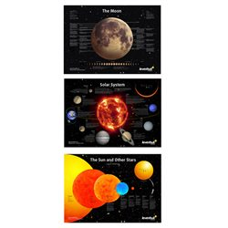 Set di poster spaziali Levenhuk