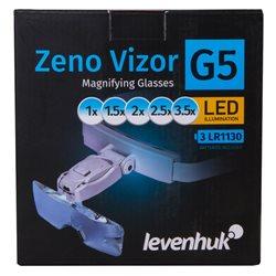 Occhiali d'ingrandimento Levenhuk Zeno Vizor G5