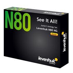 """Set di vetrini """"See it all!"""" (Alla scoperta del mondo!) Levenhuk N80 NG"""