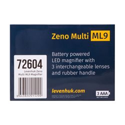 Lente d'ingrandimento Levenhuk Zeno Multi ML9