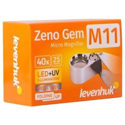Lente d'ingrandimento Levenhuk Zeno Gem M11