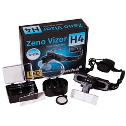 Lente d'ingrandimento frontale Levenhuk Zeno Vizor H4