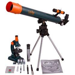 Kit microscopio e telescopio Levenhuk LabZZ MT2
