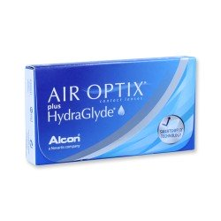 Air Optix Plus Hydraglyde -...